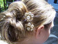 Vintage Hair jewlery from etsy.com