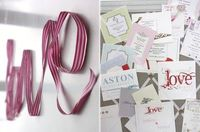 ribbon writing