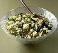 Tangy Couscous Salad. Good.