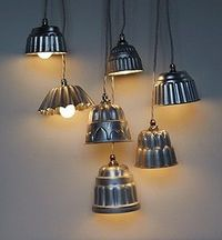 Vintage Jelly Mould Lights!