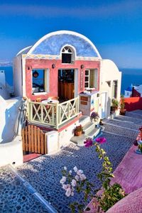 ..Santorini, Greece