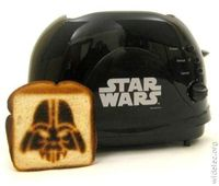 Star Wars toaster :-)