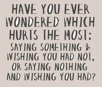 Have you ever wondered?