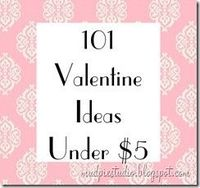 101 valentines . . . some really fun ideas