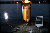 Camp stove charger