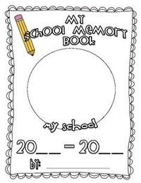 Use this cute little memory book to help your students celebrate the end of the school year! Simply just print a copy of the book pages for each o...