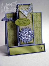 Beautiful card from Jan Tink!