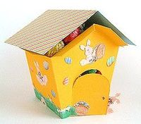 How to Make an #Easter Egg House or Cubby House Gift Box