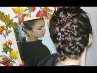 interlaced braids