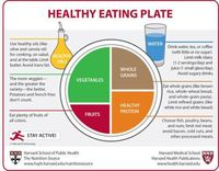 Healthy portion plate.