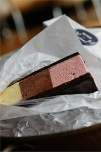 homemade neapolitan icecream