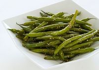 Wok-Seared Sesame Green Beans Chinese long beans cut into smaller lengths also work well in this recipe.