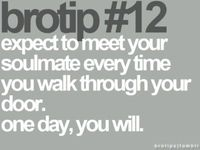 expect to meet your soulmate