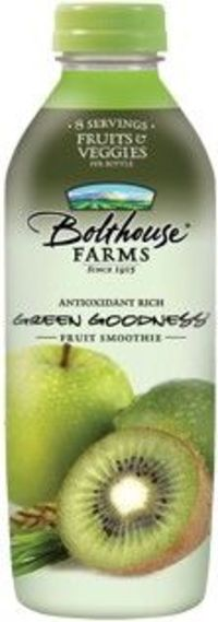 Green Goodness from Bolthouse Farms -Great to keep on hand when you don't have time to make your own juice.