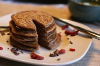 g-free pancake recipe for one? yes, please!
