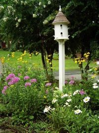 tall birdhouses