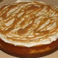"Pumpkin cheesecake! You can just whip some extra whipping cream for a topping, and change the crust to gingersnaps, instead of graham crackers. I also sub 1/3 less fat cream cheese, to make it as much ""waist"" friendly as possible, and then cook it..."