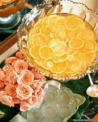 Southern Comfort New Year's Eve Punch -