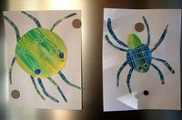 Eric Carle craft, did this in my class room this year (and it was a HIT!)