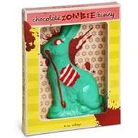 Chocolate Zombie Bunny. Clearly, I need this in my Easter basket