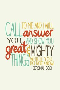 from jeremiah the prophet :)