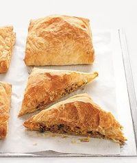 Beef and Sweet Potato Turnovers, 293 calories per serving