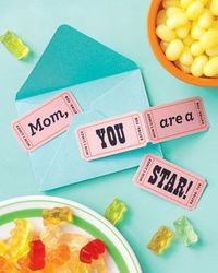 cute mother's day card idea