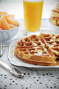 Recipe: Mikes Favorite Waffles Dine and Dish