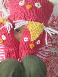 Owl mittens! Knitting pattern and it's free too!