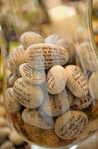 Instead of a guestbook? Great idea!!!