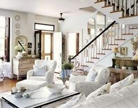 cozy farmhouse style living