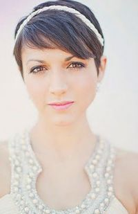 signature hair short for wedding