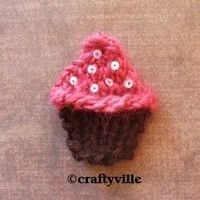 Cute cupcake knitting patterns