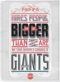 hire big people