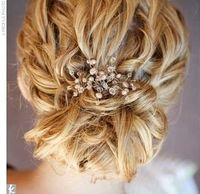 Wish my hair was long enough to do this for the wedding!