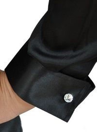 women's cuff links (Swarovski)