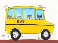 Wheels on the bus (with Pete the Cat)