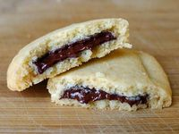 Canada Cornstarch Shortbread with Chocolate