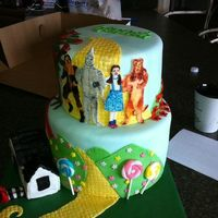 cakes Wizard of oz cake....loved it!