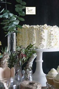 ruffle #cake by Sweet Bloom Cakes