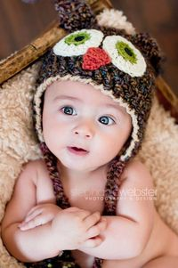 too darn cute...almost as custe as Ellie's monkey hat