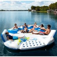 Inflatable Floating Party Island! I want this!