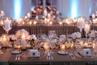 lovely rose centerpieces