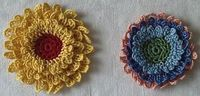 thread crochet flower