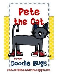 Pete the Cat centers $6.00