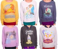 New retro sweaters from Forever 21. I had the lion king sweatshirt when I was four!