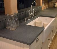 Soapstone. Really like this look