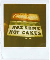 #cake #typography. 2010. #polaroid #marketstreet #california #sanfrancisco #film #sx70