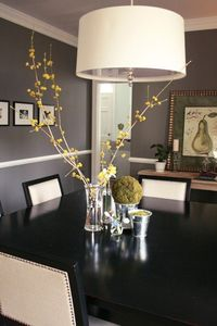 lamp - grey - table