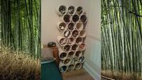 Make a DIY PVC Shoe Rack. JUST FOUND MY SOLUTION TO YARN STORAGE!
